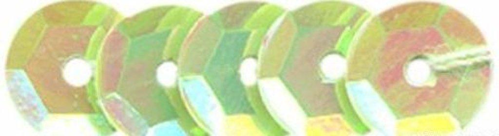 Граненые 6мм.: Пайетки граненые 6мм.,упак/10гр.Астра(цвет:85 салатовый) в Редиант-НК
