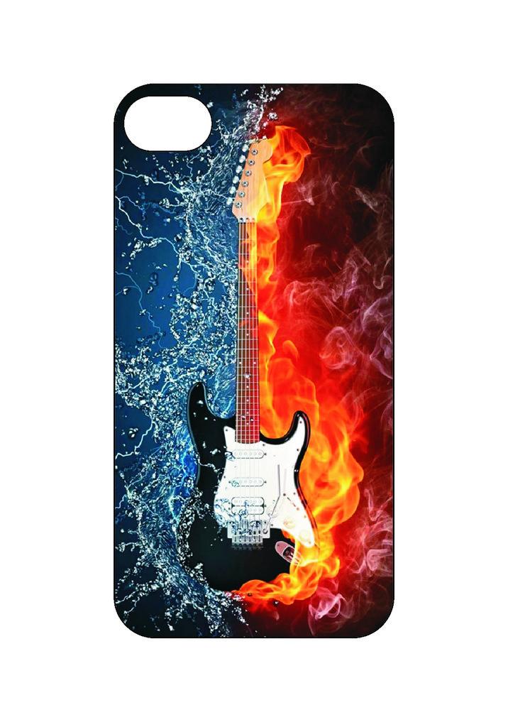 Выбери готовый дизайн для своей модели телефона: Gitara в NeoPlastic