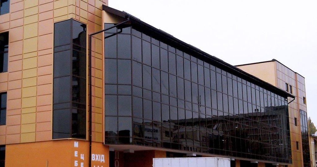 Алюминиевые фасады в Галерея, ООО