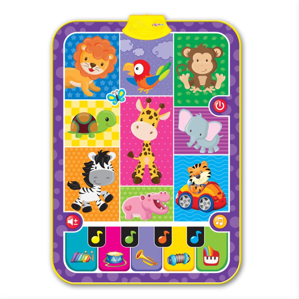 """Игрушки для малышей: Музыкальный коврик """"Мои зверята"""" в Игрушки Сити"""