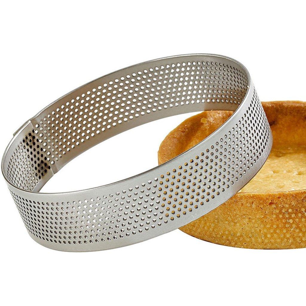 Кольца для выпечки и выкладки: Перфорированное кольцо для выпечки в ТортExpress