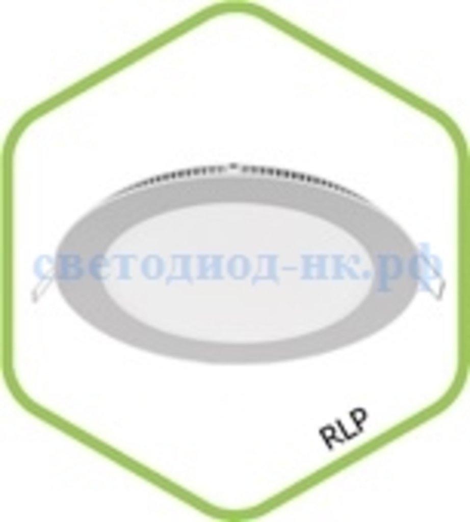 Встраиваемые светодиодные светильники: Панель светодиодная круглая RLP-eco 3Вт 230В 4000К 210Лм 90/80мм белая IP40 в СВЕТОВОД