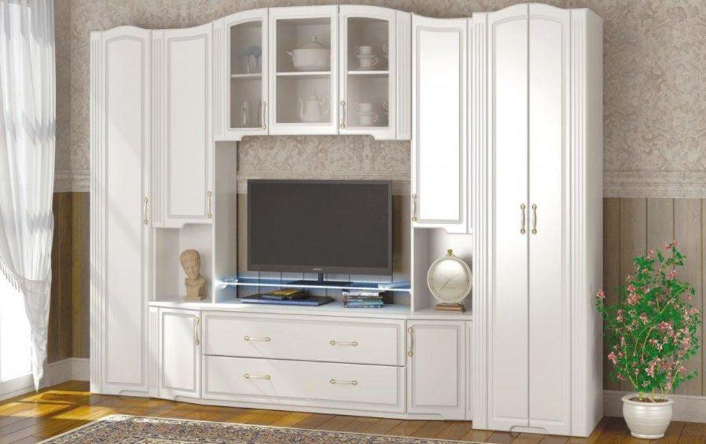 Модульная мебель в гостиную Виктория: Модульная мебель в гостиную Виктория в Стильная мебель