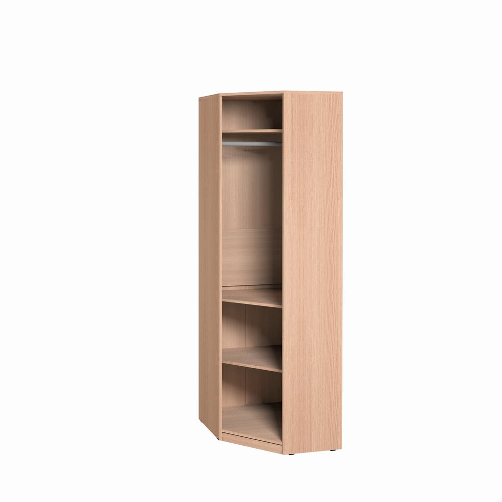 Детские шкафы и стеллажи: Шкаф угловой Фасад Лимон Калейдоскоп 1 в Стильная мебель