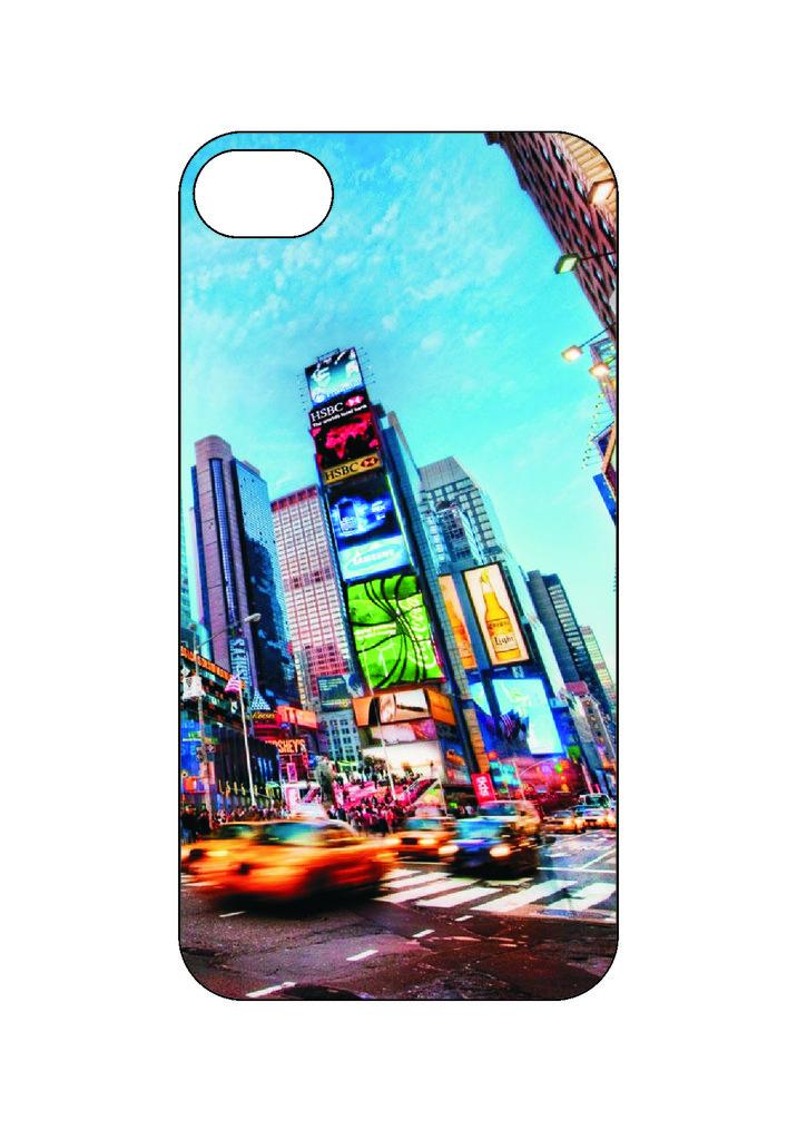 Выбери готовый дизайн для своей модели телефона: Нью-Йорк2 в NeoPlastic