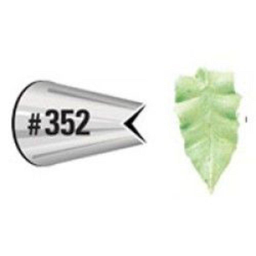 Кондитерские насадки: Насадка 352 листок d=5х17 h=31 в ТортExpress
