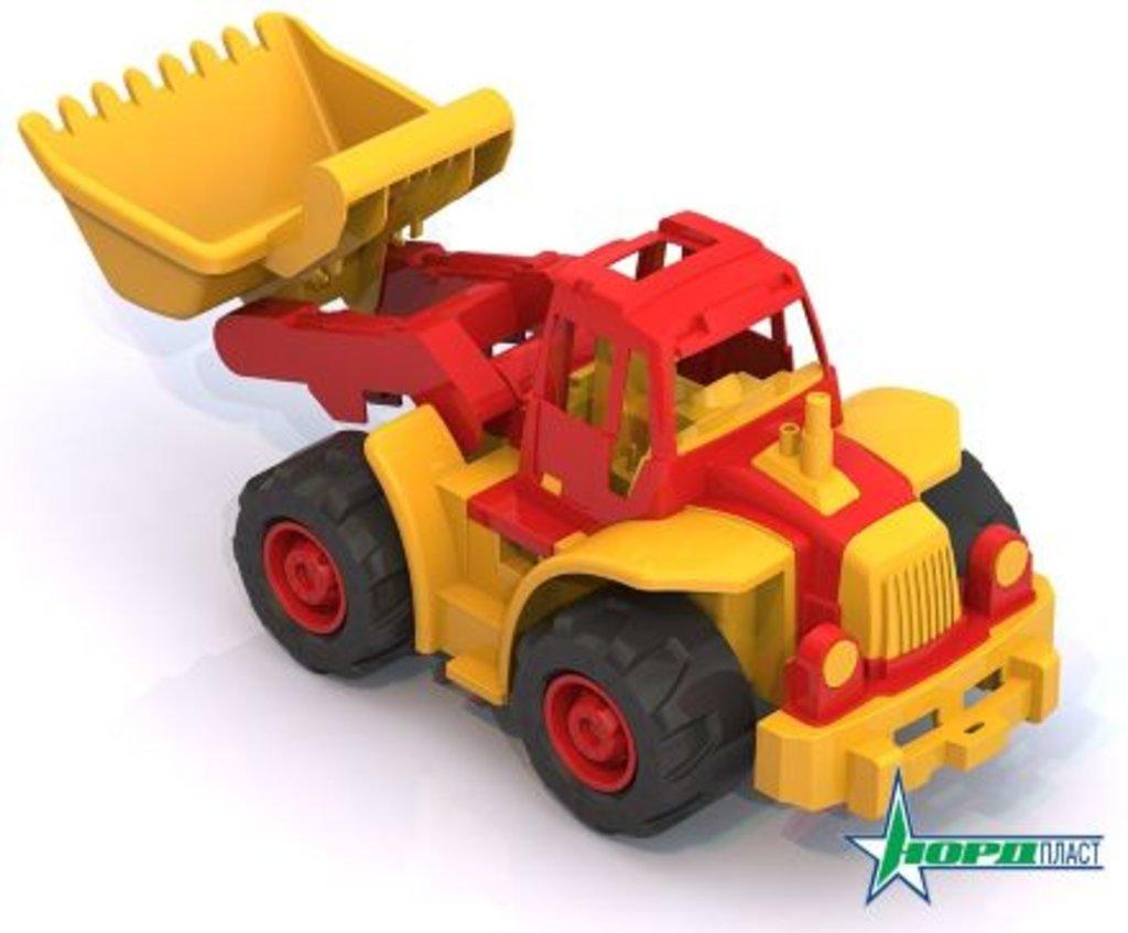 """Игрушки для мальчиков: Трактор  """"Богатырь"""" с грейдером в Игрушки Сити"""
