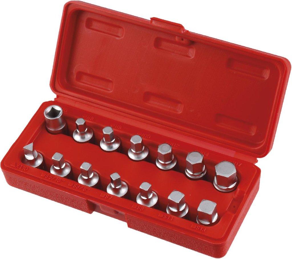 Инструмент для ремонта и диагностики двигателя: KA-7805 Набор головок для масляных пробок в Арсенал, магазин, ИП Соколов В.Л.