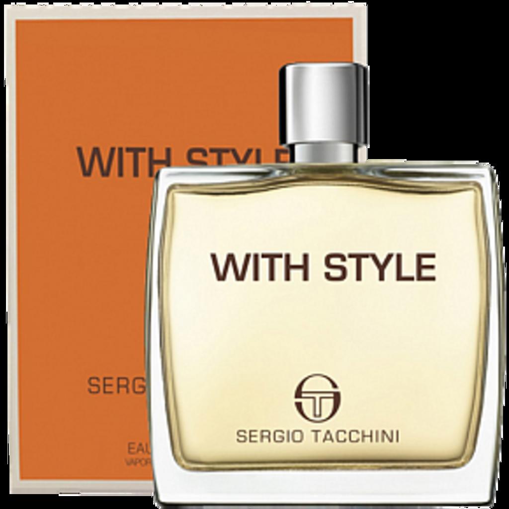 Для мужчин: Sergio Tacchini With Style edt 30 | 100ml в Элит-парфюм