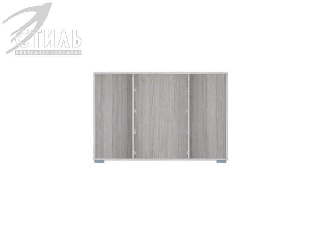 Комоды: Комод МДФ №5 (Ясень шимо светлый / Белый металлик) в Диван Плюс