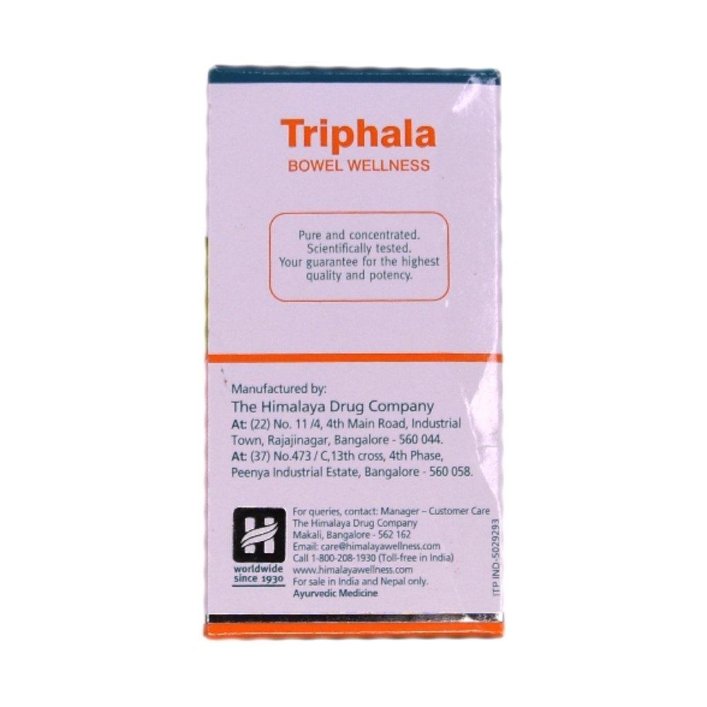 БАДы: Triphala Bowel Wellness (Himalaya) - 60 tablets в Шамбала, индийская лавка