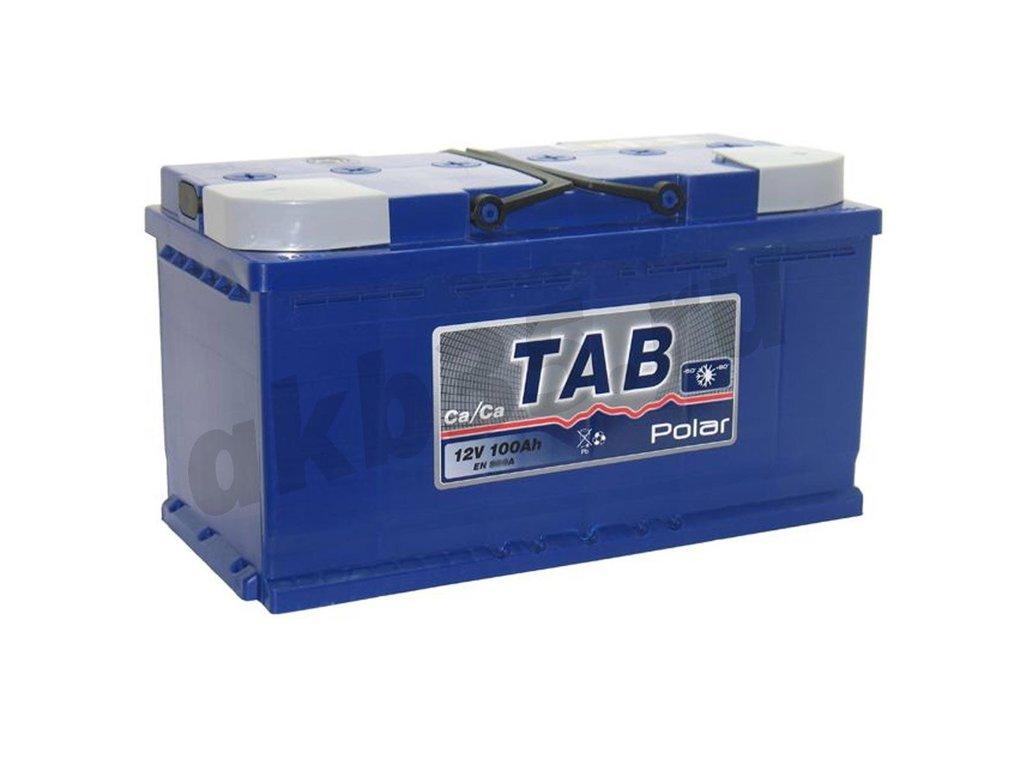 Аккумуляторы: TAB POLAR 6СТ-100 /О.П./ в Планета АКБ