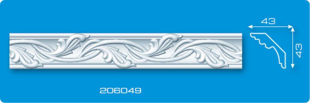 Плинтуса потолочные: Плинтус потолочный ФОРМАТ 206049 инжекционный длина 2м в Мир Потолков