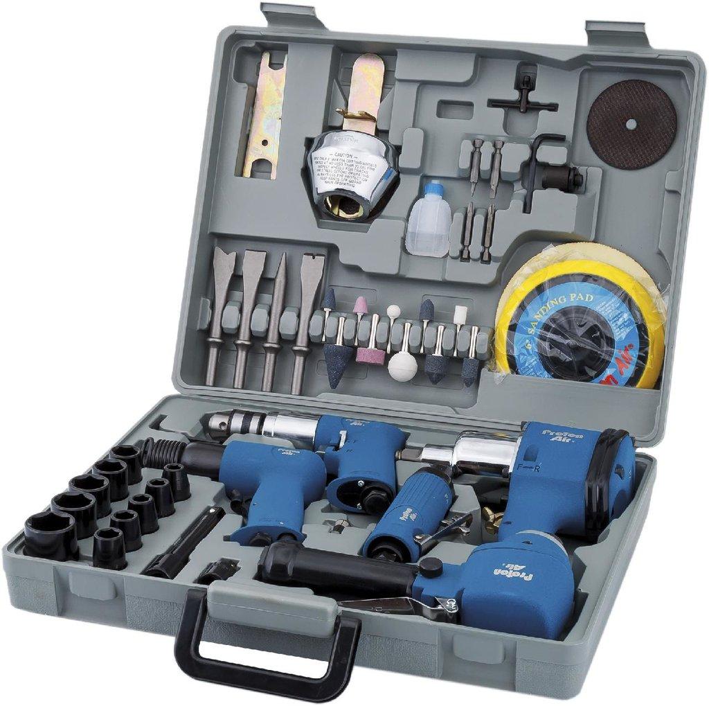 Универсальный инструмент для ремонта и диагностики автомобиля: PA-ATK-52HD набор пневмоинструмента в Арсенал, магазин, ИП Соколов В.Л.