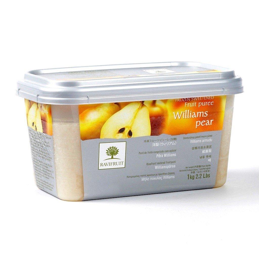 Фруктовое пюре: Пюре Ravifruit Груша, 1кг в ТортExpress