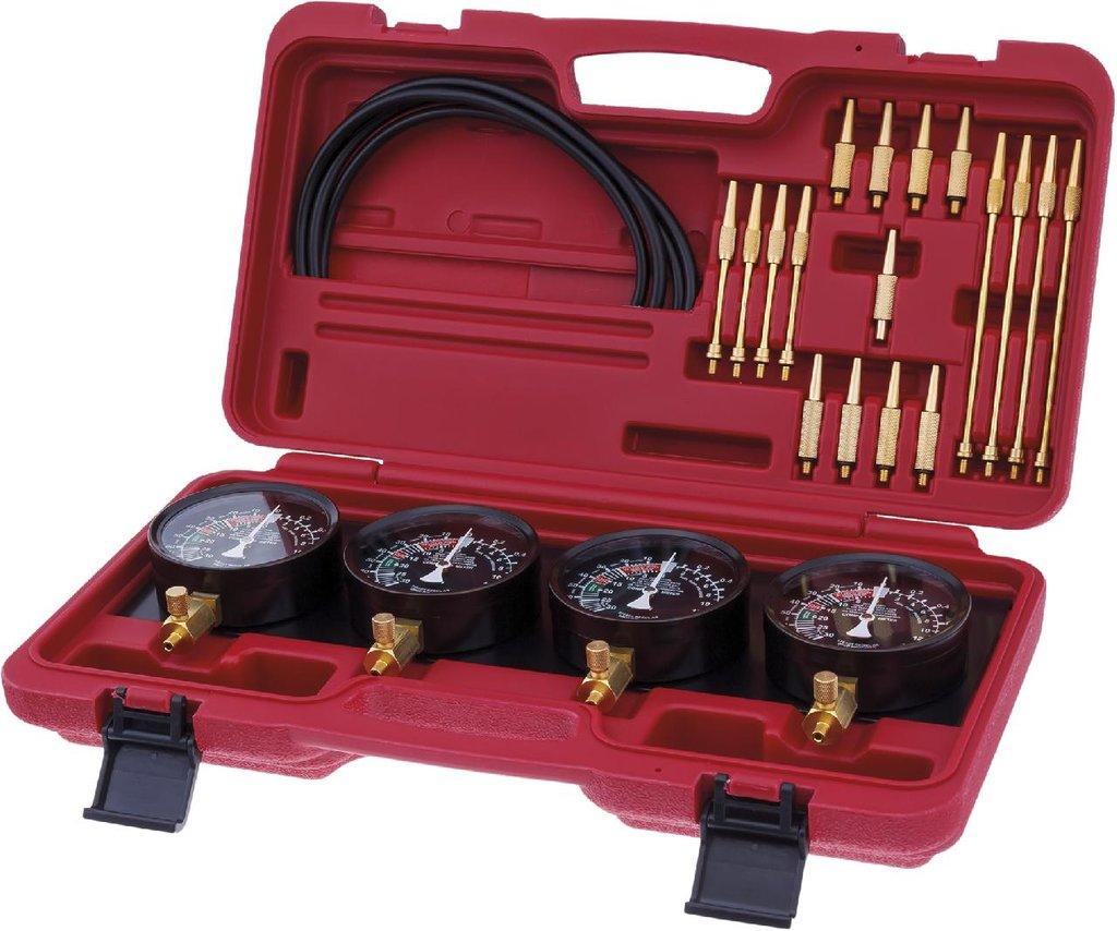 Инструмент для ремонта и диагностики топливной системы автомобиля: KA-7200 комплект тестеров давления и вакуума в Арсенал, магазин, ИП Соколов В.Л.