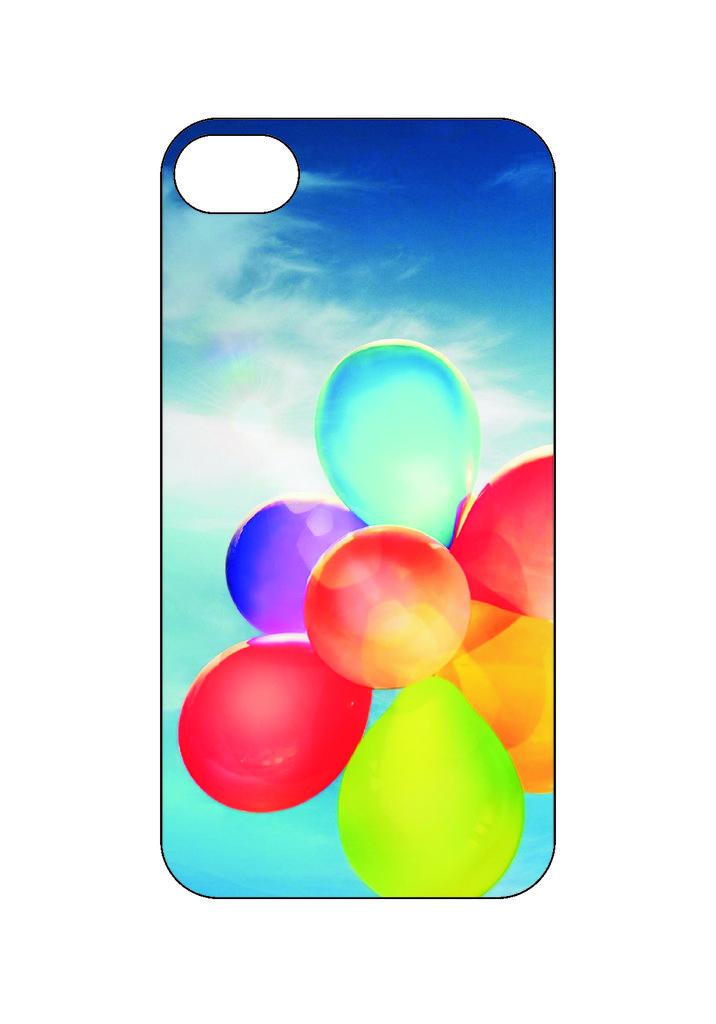 Выбери готовый дизайн для своей модели телефона: Воздушные шарики в NeoPlastic
