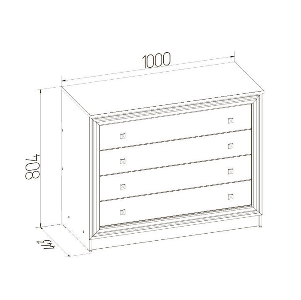 Комоды для дома: Комод PAOLA 455 патина в Стильная мебель