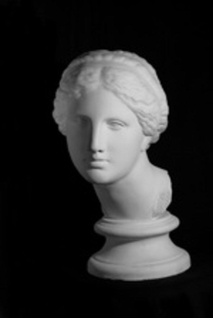 Гипсы: Голова Афродиты Книдос в Шедевр, художественный салон