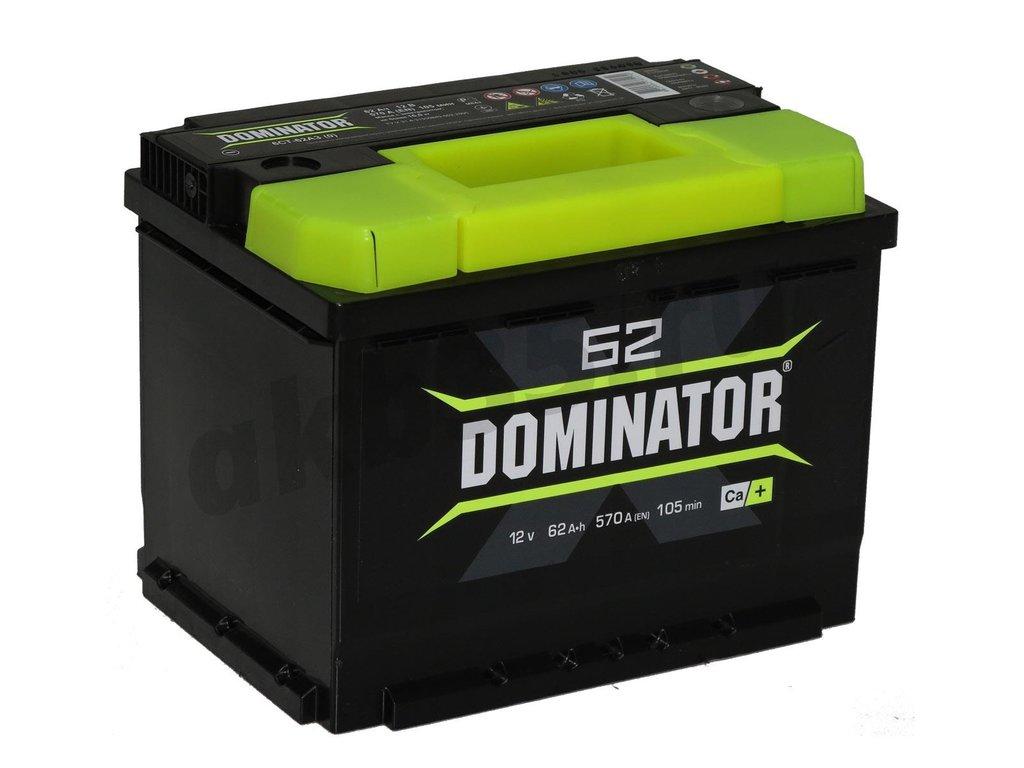 Аккумуляторы: Dominator 62 А/ч Обратный в Планета АКБ