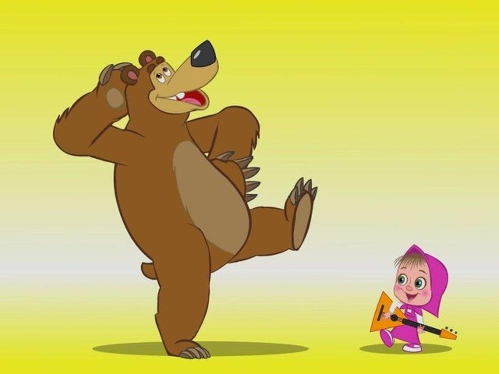 Детские: Маша и медведь в ТортExpress
