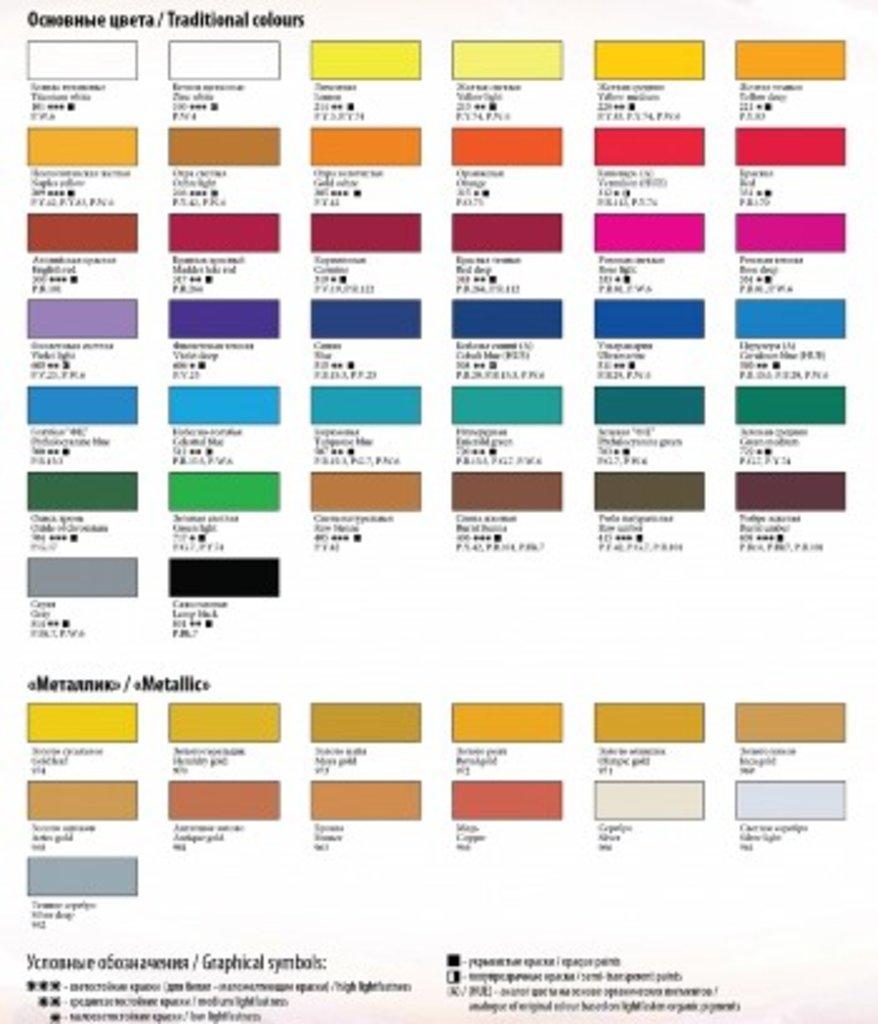 """Ладога: Краска акриловая """"Ладога""""  фиолетовая светлая 46мл в Шедевр, художественный салон"""