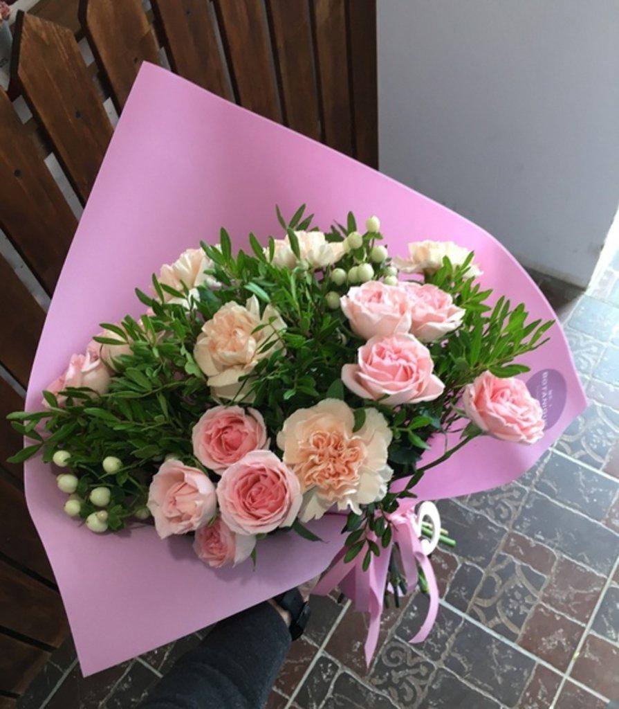 Букеты в фоамиране: Кустовые Розы и Гвоздика в Фоамиране в Botanique №1,ЭКСКЛЮЗИВНЫЕ БУКЕТЫ