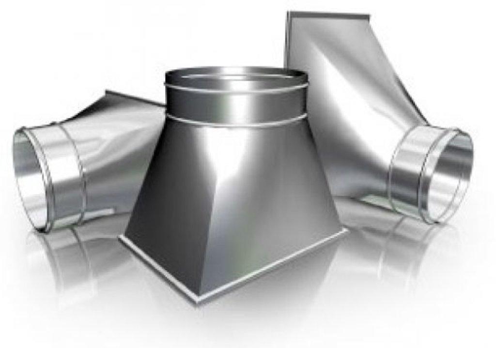 Система вентиляции: Переход из оцинкованной стали в Теплолюкс-К, инженерная компания