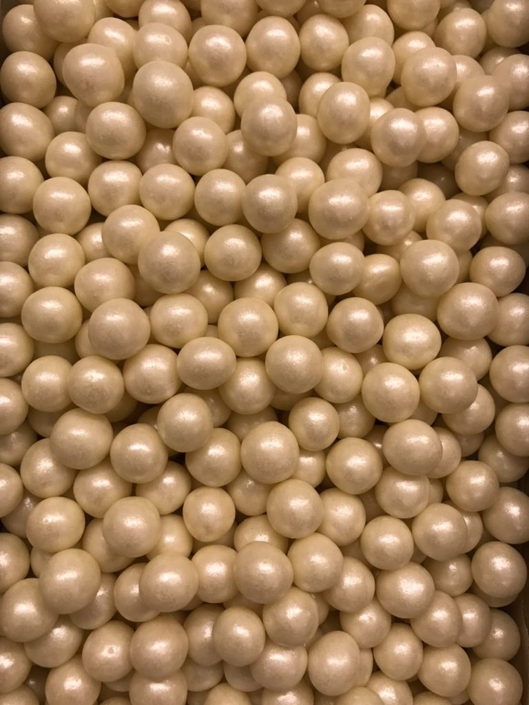 Посыпки декоративные: Посыпка Драже зерновое Жемчуг 12-13 мм 100г в ТортExpress