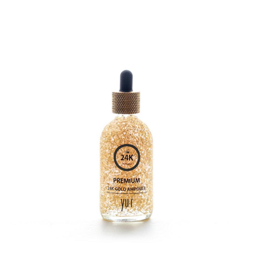 Сыворотки: Cыворотка с частицами золота 24R Gold premium ampule, 100 мл в Косметичка, интернет-магазин профессиональной косметики