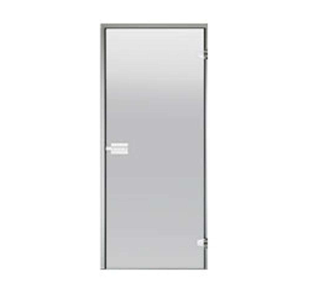 Комплектующие для саун: Дверь для турецкой бани НARVIA 70 х 190 прозрачная в Пять звезд, ООО
