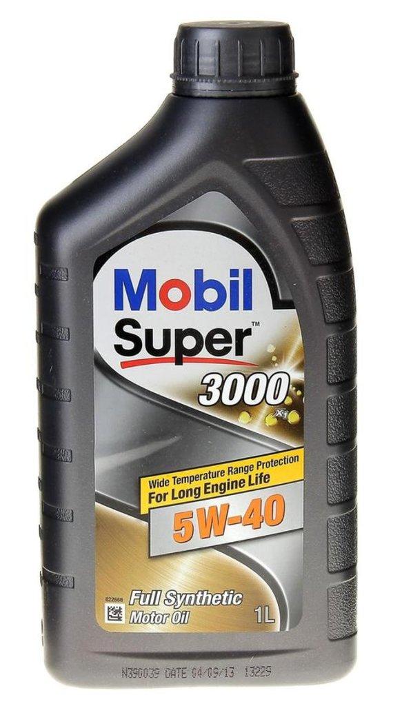 Автомасла Mobil: Mobil SUPER 3000 X1 5W-40 (1.0 л х 12) в Автомасла71