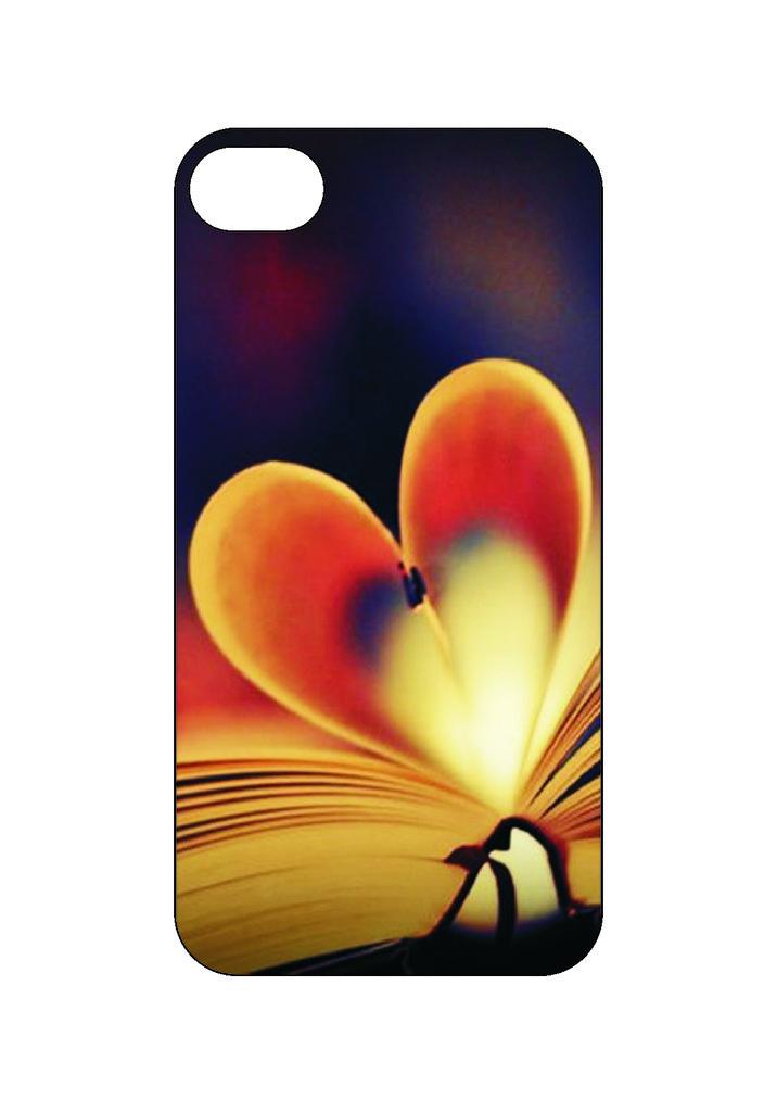 Выбери готовый дизайн для своей модели телефона: Book heart в NeoPlastic