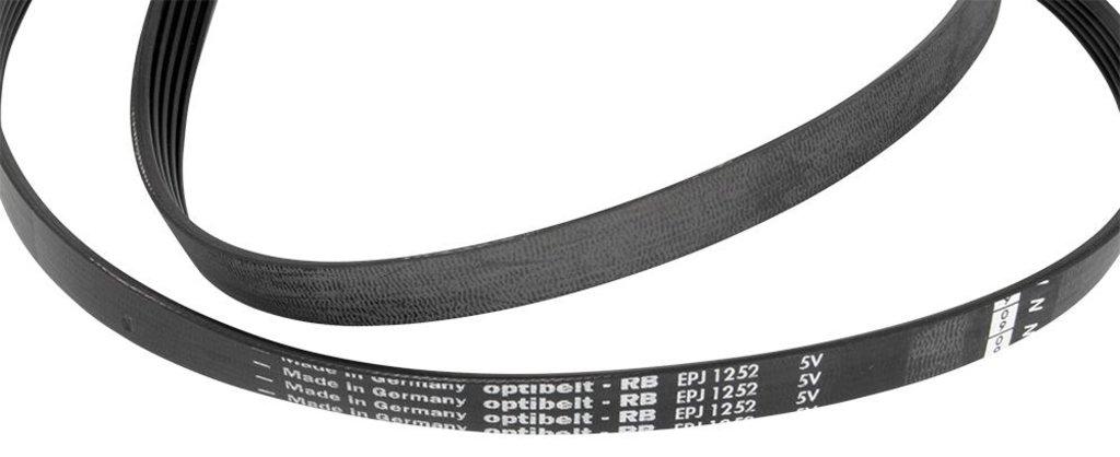 Ремни привода барабана: Ремень для стиральной машины 1252 J5 Bosch 00354131, 439491 в АНС ПРОЕКТ, ООО, Сервисный центр