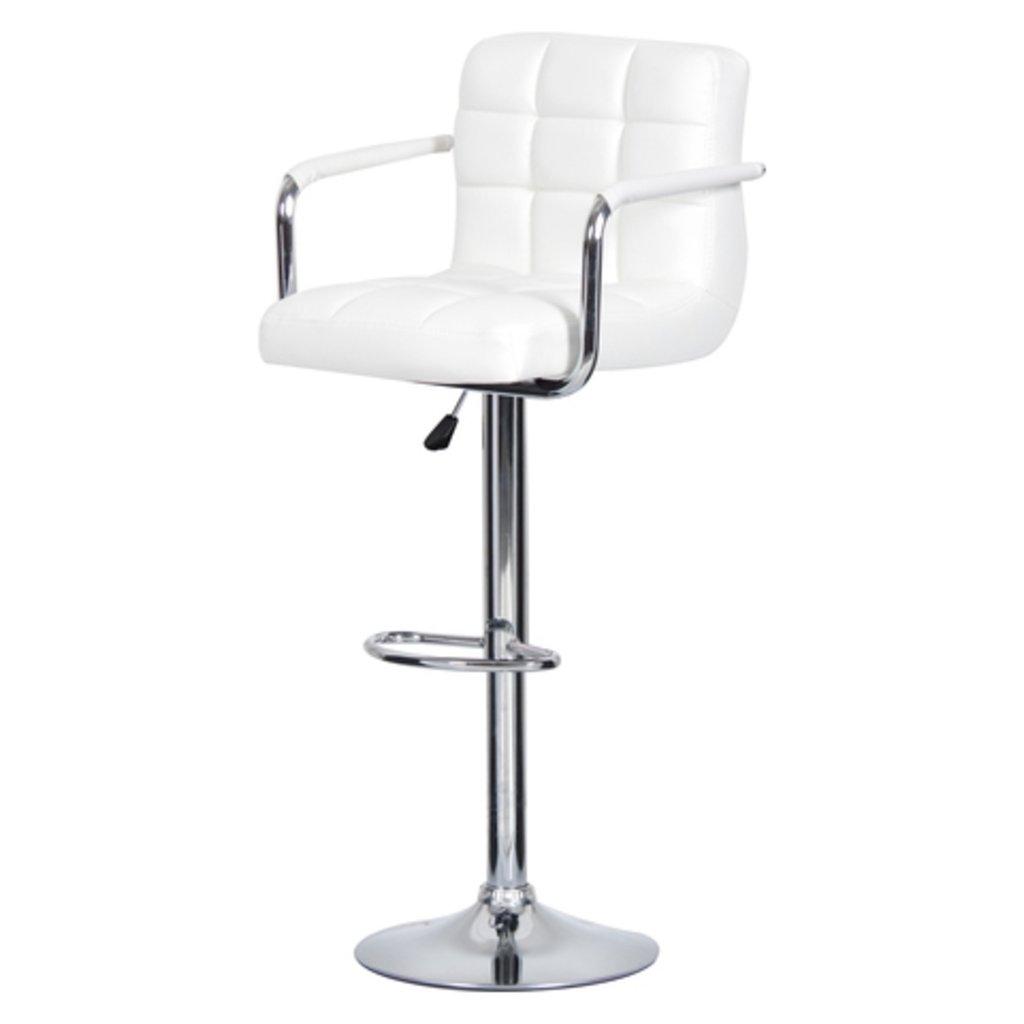 Стулья барные.: Барный стул Kruger Arm (хром) в АРТ-МЕБЕЛЬ НН