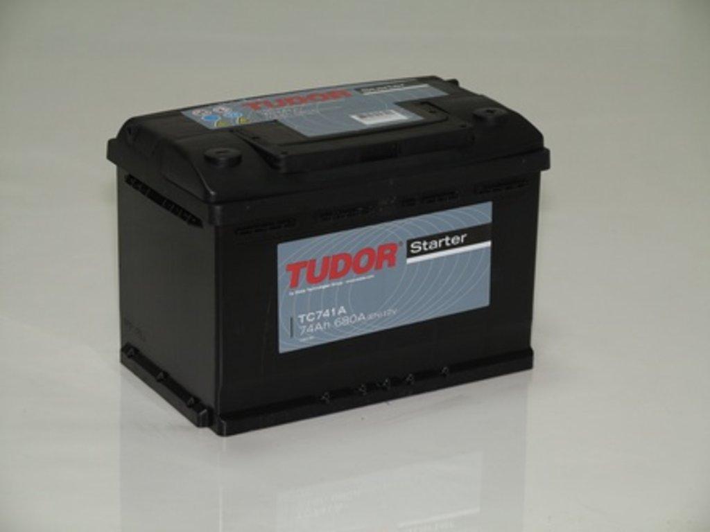 Аккумуляторы автомобильные: TUDOR STARTER 74 А/Ч L в Мир аккумуляторов