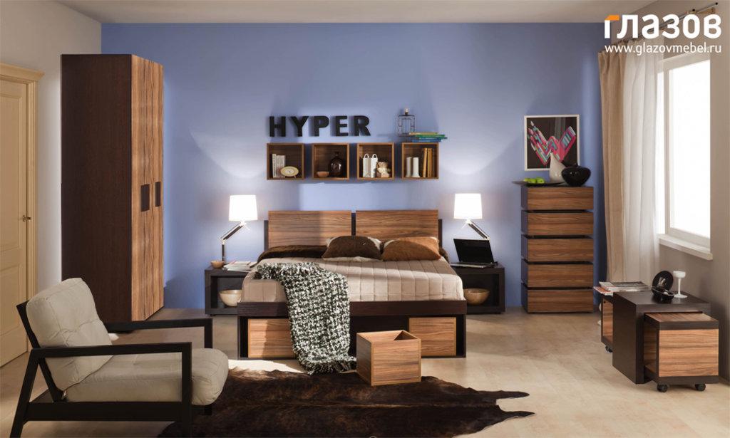 Кровати: Кровать Hyper 1 (1800, мех. подъема) в Стильная мебель