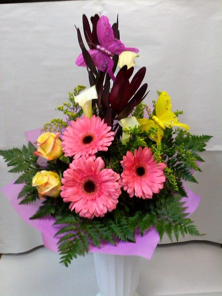 Букеты: Букет № 22 в Николь, магазины цветов