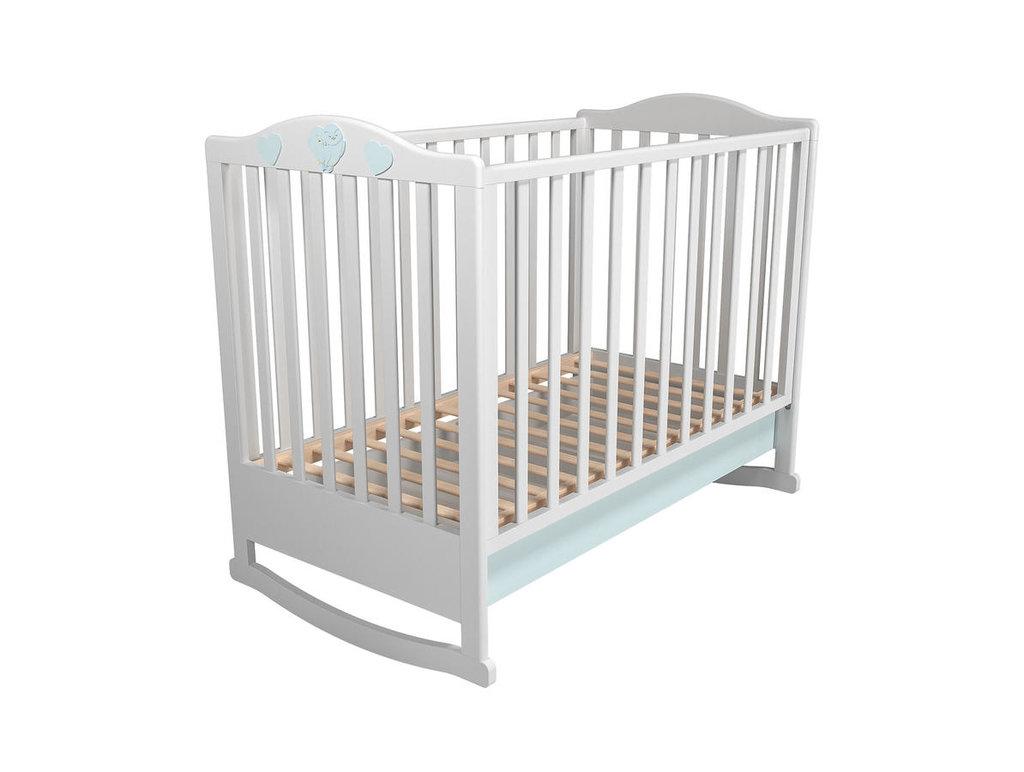 Детские и подростковые кровати: Кровать детская с ящиком НМ 041.04 Лилу (600x1200, орт. осн. дерево) в Стильная мебель