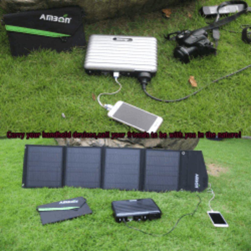 Солнечные зарядные устройства: Солнечное зарядное устройство Ambon 28Вт в Горизонт