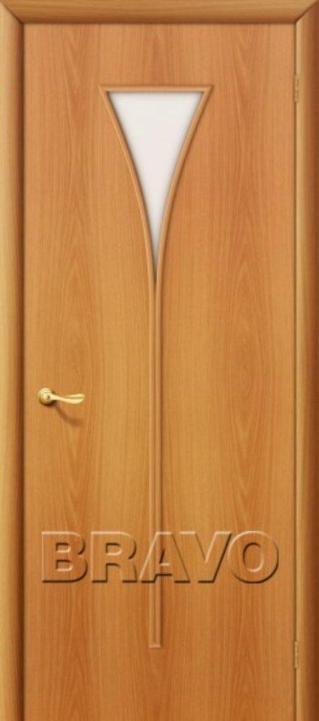 Двери ламинированные BRAVO: 3С Л-12 (МиланОрех) в STEKLOMASTER