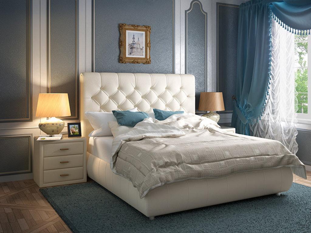 """Кровати: Кровать двуспальная """"Бланкита"""" в Амадео"""