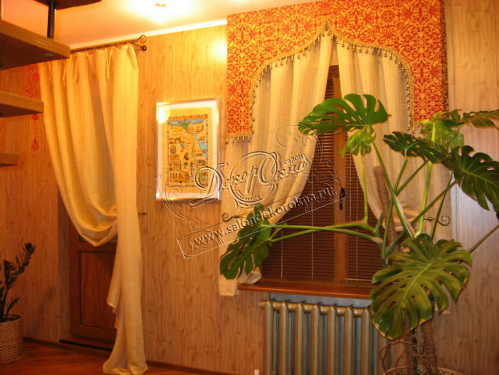 Шторы, портьеры: Шторы в этнических стилях в Декор окна, салон