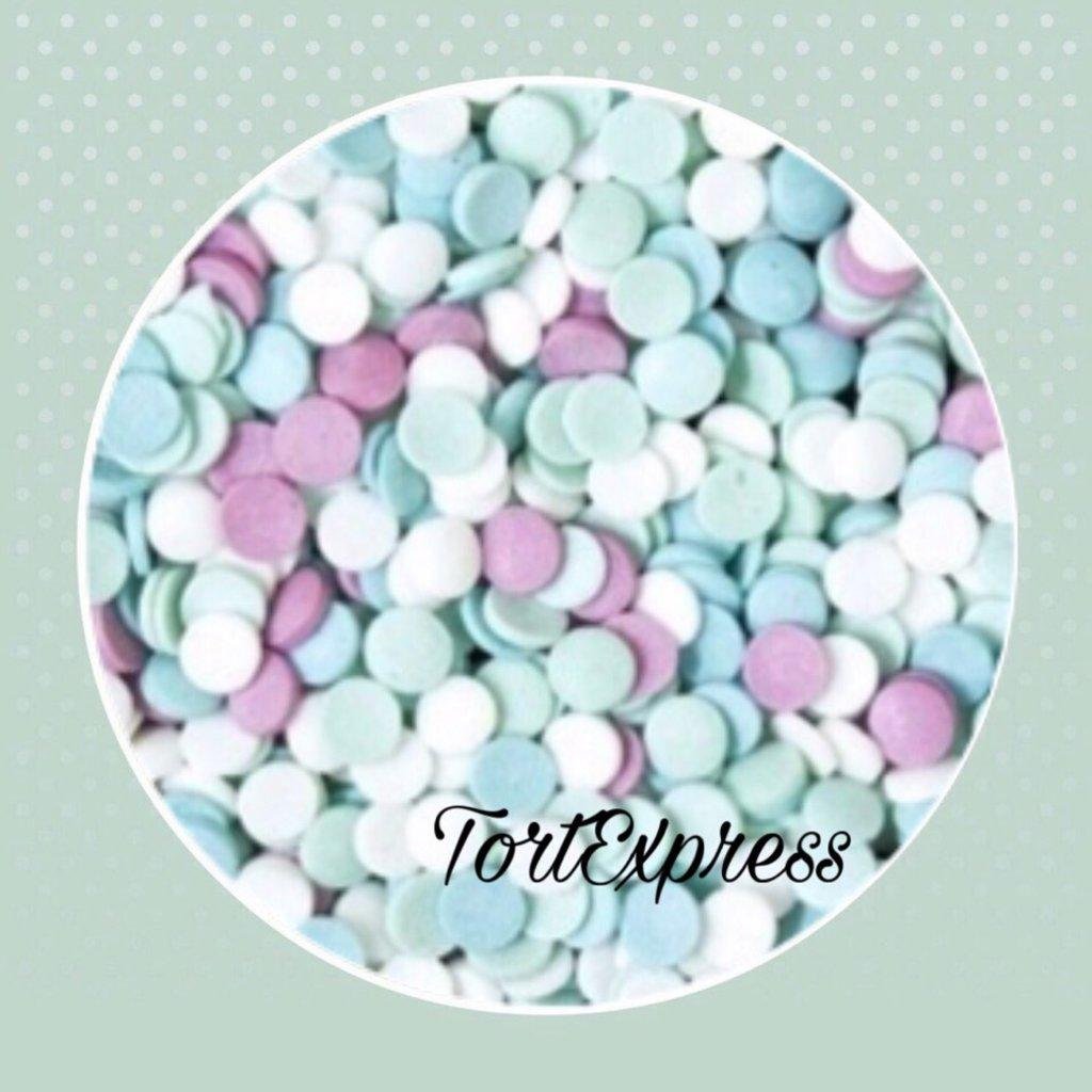 Посыпки декоративные: Посыпка сахарная Лазурная сюита 75гр в ТортExpress