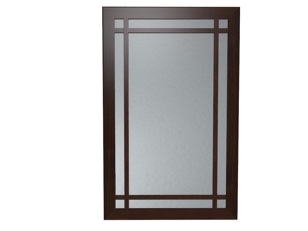 Зеркала, общее: Зеркало навесное Sherlock 7 в Стильная мебель