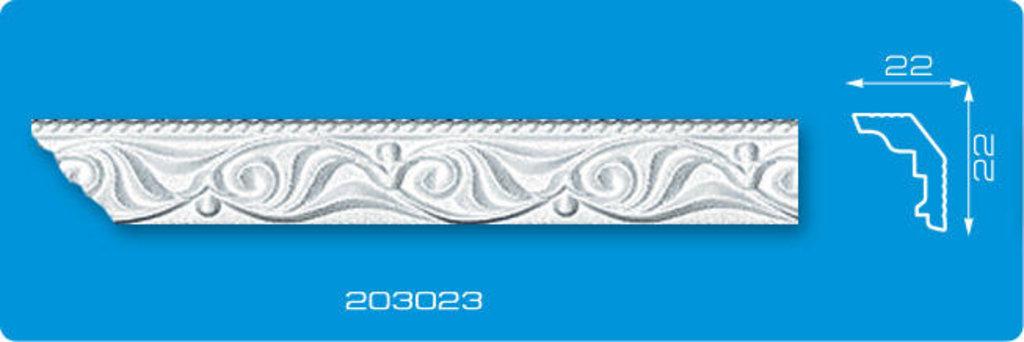 Плинтуса потолочные: Плинтус потолочный ФОРМАТ 203023 инжекционный длина 2м в Мир Потолков