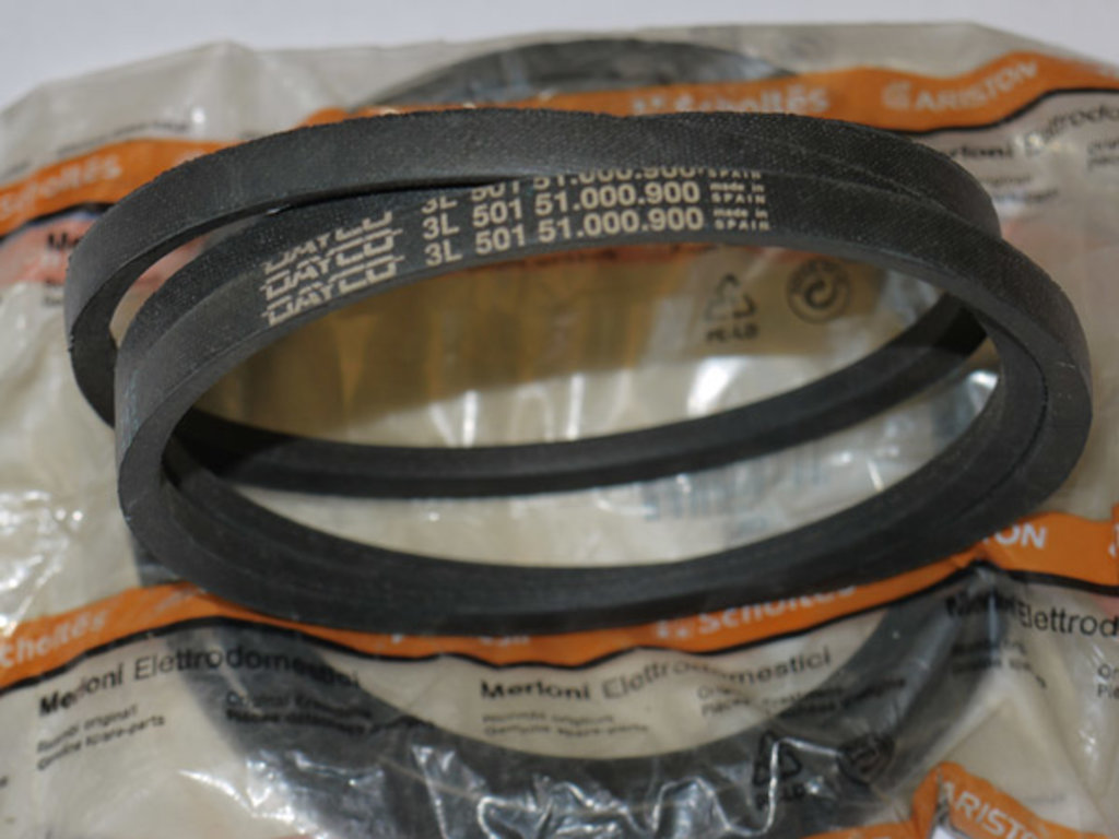 Ремни привода барабана: Ремень для стиральной машины 3L501 в АНС ПРОЕКТ, ООО, Сервисный центр