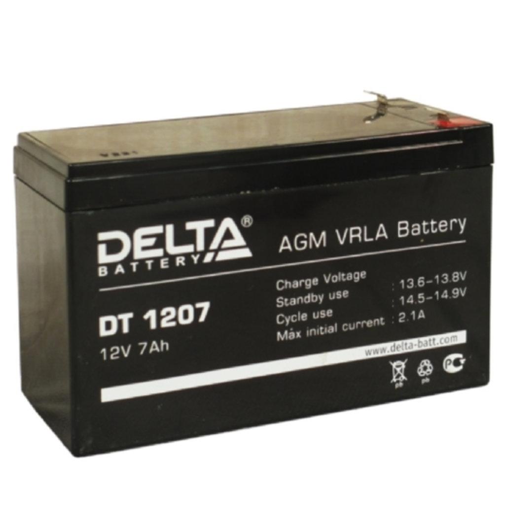 Delta: DELTA DT 1207 в БазаАКБ