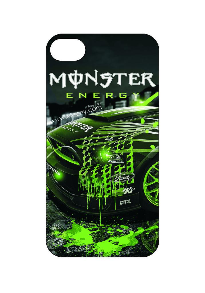 Выбери готовый дизайн для своей модели телефона: Монстер в NeoPlastic