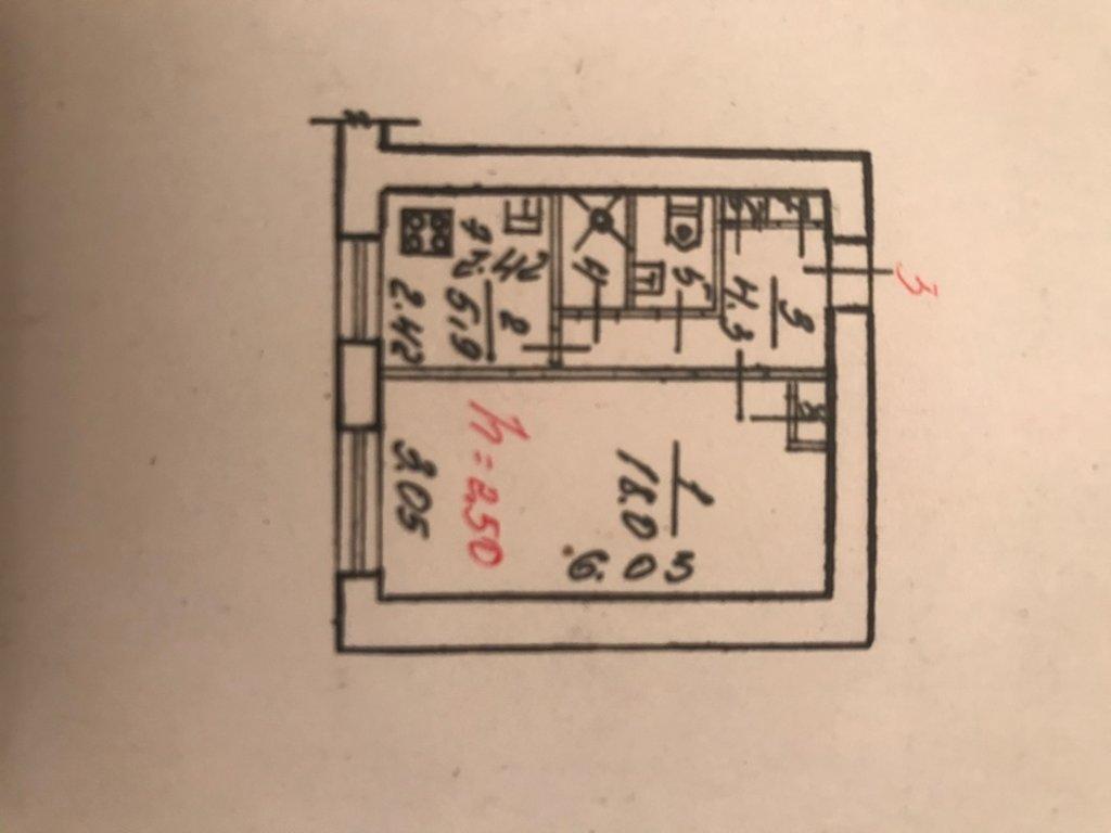 1-комн. квартира: 1-комнатная квартира улица Сталеваров дом 75 в Перспектива, АН